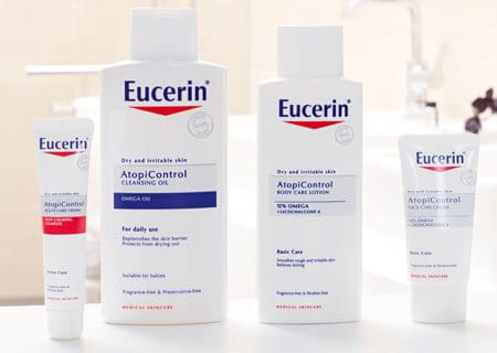 Eucerin AtopiControl Pflegeserie