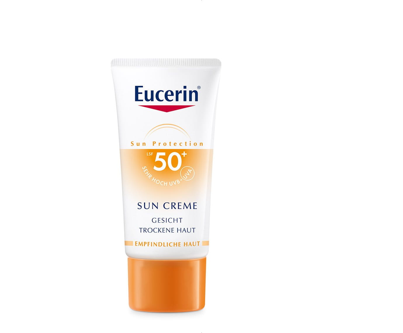 sun creme lsf 50 eucerin. Black Bedroom Furniture Sets. Home Design Ideas